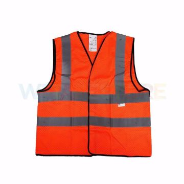 Picture of 3M 2925 SAFETY VEST reflective vest orange