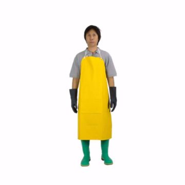 Picture of PVC chemical protection bib