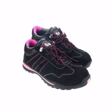 Picture of PANTHER Pink safety shoes for women