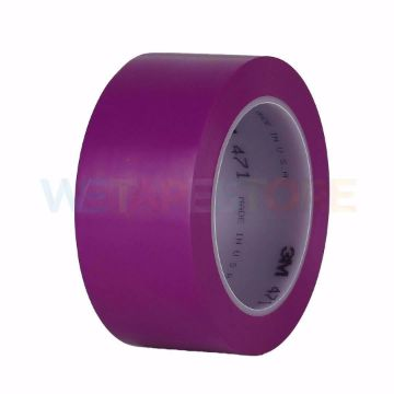 Picture of 3M 471 Vinyl Tape Striping Purple