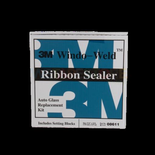 รูปของ 3M 08611 Window-Weld Ribbon Sealer กาวเส้นติดตั้งกระจกรถยนต์