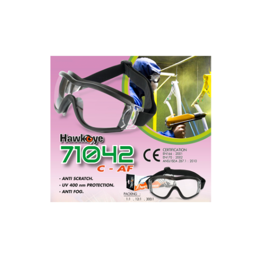 Picture of Hawkeye 71042CAF Safety glasses