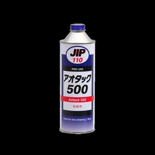 รูปของ JIP 110 Aotack 500 สีสําหรับการเขียนเส้นสีฟ้า น้ำยาเคลือบ