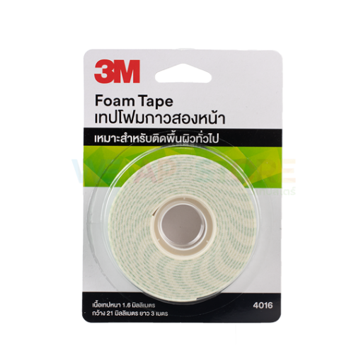 Picture of 3M 4016 Double Coated Urethane Foam Tape size 21mm x 3M