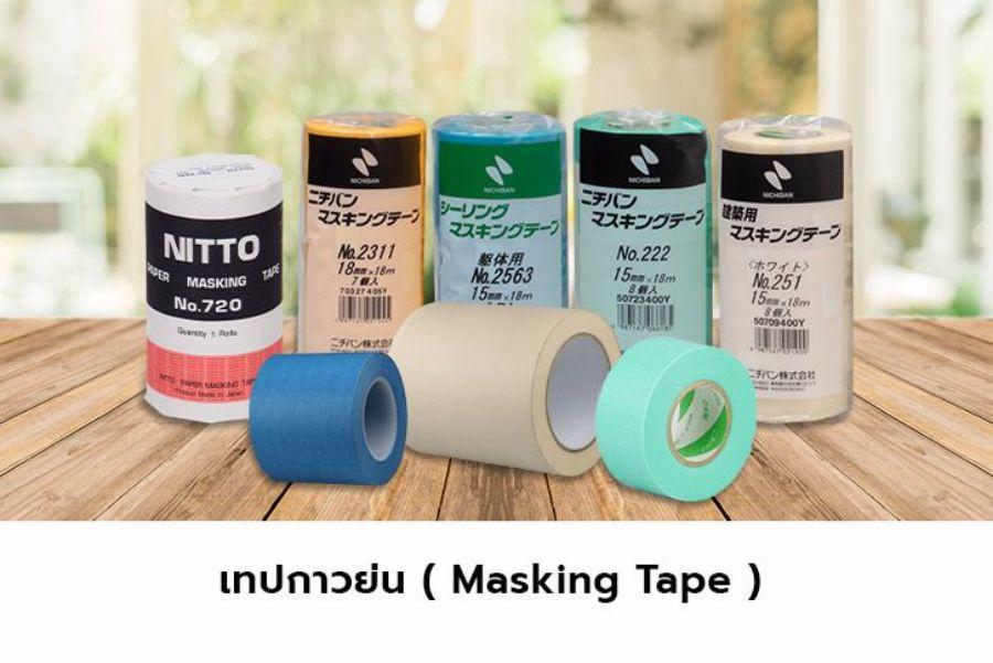 เทปกาวย่น ( Masking tape )