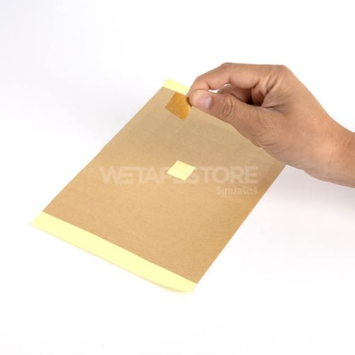 Picture of IDPA IPSC Target paper KRAFT Tape Size 20 x 20 mm. (70 pcs/sheet)